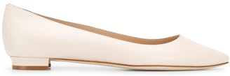 Manolo Blahnik Pointed Ballerina Shoes