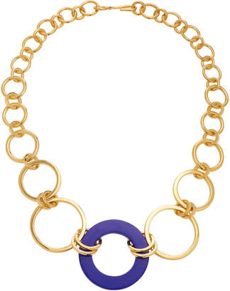 Joanna Laura Constantine Tribale Gold-Plated Stone Necklace