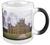2buymore Mug Downton Abbey TV Show Morphing Mug Heat Sensitive Color Changing 100% Ceramic Coffee/Tea Cup Morphing Mugs