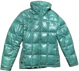 Moncler Classic Green Coat for Women