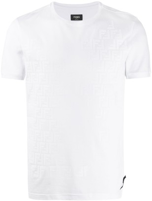 Fendi faded FF T-shirt