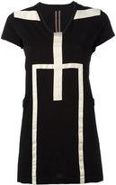 Rick Owens geometric print T-shirt - women - Cotton - S