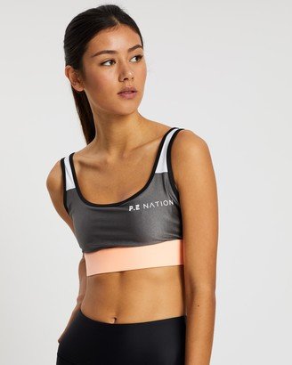 P.E Nation Side Runners Sports Bra