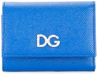 Dolce & Gabbana logo tri-fold wallet