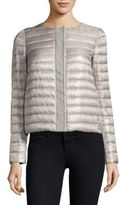 Herno Collarless Down Puffer Jacket