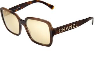 Chanel Women's Ch5408 56Mm Sunglasses