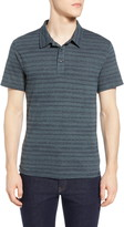 Threads 4 Thought James Dirt Road Stripe Short Sleeve Polo