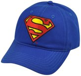 Concept One Superman DC Comics Book Super Hero Sun Buckle Slouch Relaxed Hat Cap Cartoon