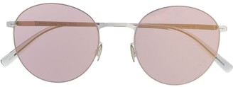 Mykita Tomomi shiny round sunglasses