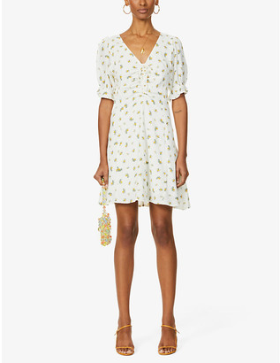 Faithfull The Brand Palma floral-print woven mini dress