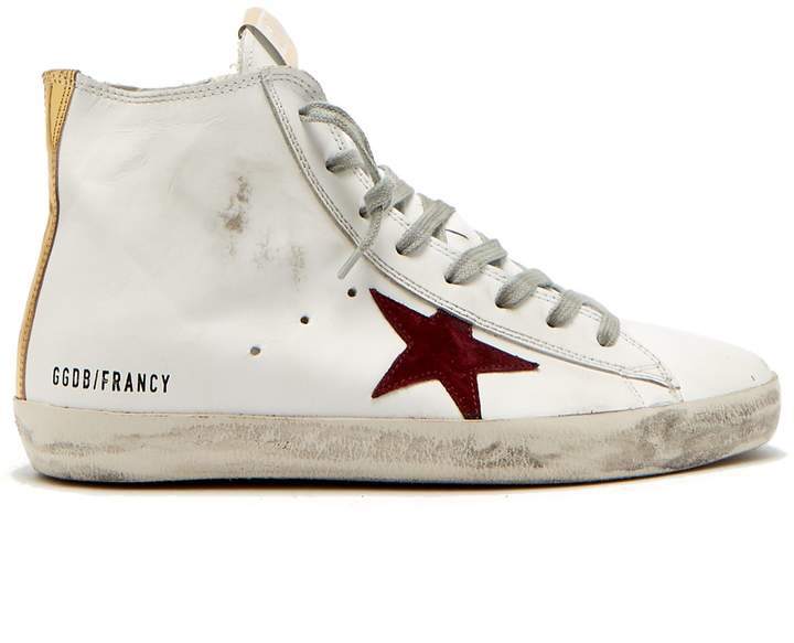 Golden Goose Francy leather high-top trainers