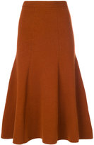 Joseph knitted midi skirt - women - Nylon/Spandex/Elastane/Wool - S