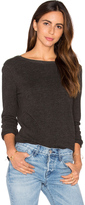 ATM Anthony Thomas Melillo Unfinished Hem Sweatshirt
