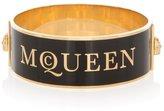 Alexander McQueen Medium Enamel Solid Bracelet