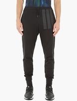 Y-3 Black Cotton-jersey Long Johns