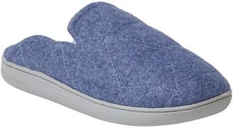 Dearfoams Women's Wool-Inspired Scuff Slippers