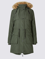 M&S Collection Padded Parka with StormwearTM