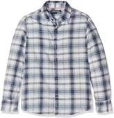 Tommy Hilfiger Boy's D Indigo Twill Check L/S Shirt