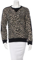 Timo Weiland Textured Patterned Sweatshirt