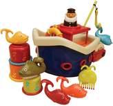 N. B. Fish Splash Bath Boat Set