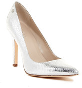Calvin Klein Brady Metal Snake Pointed Toe Pump - Wide Width Available