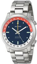 Jack Spade Men's WURU0045B Clarkson Stainless Steel Watch with Multi-Tone Dial