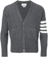 Thom Browne cashmere 4-bar stripe cardigan