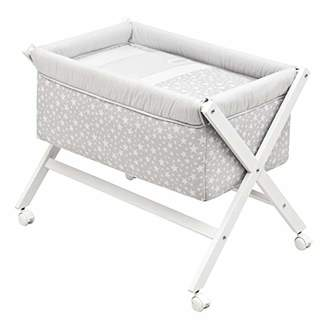 Camilla And Marc Cambrass Small Bed/Crib (55 x 87 x 74 cm, Wood Une Star Grey)