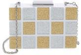 Sondra Roberts Resin Box Clutch - White