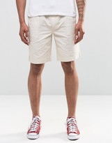 Bellfield Shorts in Stone Canvas