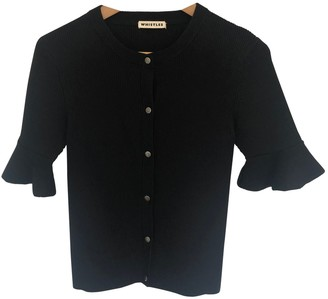 Whistles Black Cotton Top for Women