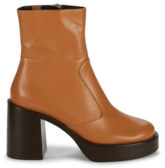 Simon Miller Raid Leather Platform Ankle Boots
