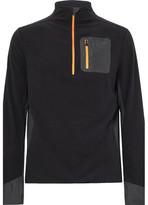 Aztech Mountain - Jackpot Panelled Fleece Half-Zip Sweater