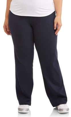 Athletic Works Women's Plus Size Dri-More Bootcut Sweatpants