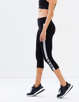 DKNY Crop Mid Rise Logo Leggings