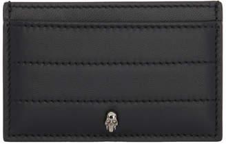 Alexander McQueen Black Skull Stitch Card Holder