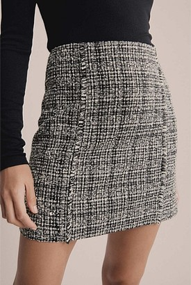 Witchery Tweed Mini Skirt