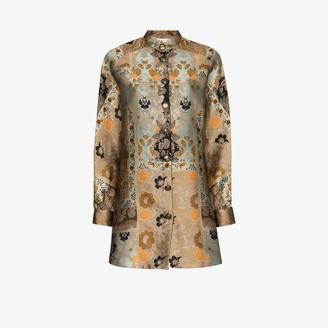 Etro Jacquard Shirt Dress