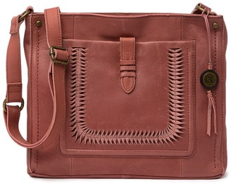 The Sak Heritage Leather Crossbody Bag