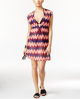 Miken Chevron Crocheted Cover-Up