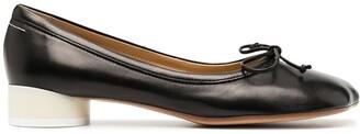 MM6 MAISON MARGIELA Lace-Up Detail Ballerina Shoes