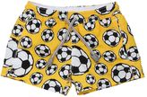 MC2 Saint Barth Soccer Balls Printed Nylon Swim Shorts