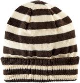 San Diego Hat Company Brown Stripe Beanie