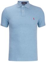 Polo Ralph Lauren Men's Short Sleeve Slim Fit Polo Shirt French Turquiose