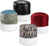Bed Bath & Beyond Blockbuster Multi-Colored Footstool Cover