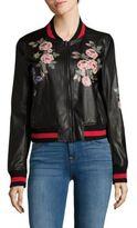 Bagatelle Floral Printed Bomber Jacket