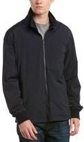 Z Zegna Reversible Nylon & Techmerino Wool Jacket.