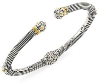 Konstantino Delos 18K Yellow Gold Hinged Bracelet
