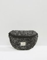 Spiral Bumbag In Speckle Print