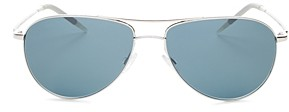 Oliver Peoples Men's Benedict Aviator Sunglasses, 59mm